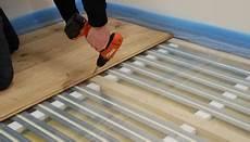 unterkonstruktion dielenboden altbau thermolutz fu 223 bodenheizung system econom flex thermolutz