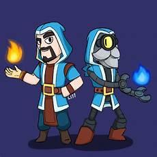 Brawl Malvorlagen Xp Two Wizards Clash Royale Brawl By Lazuli177 On