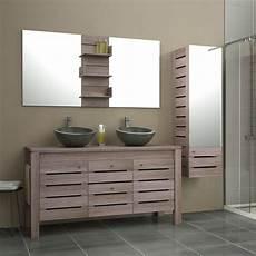 meuble colonne salle de bain leroy merlin meuble de salle de bains plus de 120 brun marron