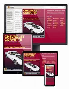 car repair manuals online free 1968 chevrolet corvette on board diagnostic system chevrolet corvette 1968 1982 car repair manuals