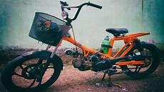 Modifikasi Motor Jadi Sepeda Bmx by Motor Tiger Disulap Jadi Sepeda Bmx Bermesin
