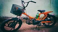 Motor Modif Sepeda Bmx by Motor Tiger Disulap Jadi Sepeda Bmx Bermesin