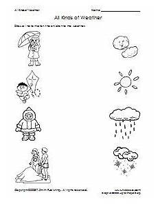 weather and us worksheets 14699 all kinds of weather matching worksheet supplyme