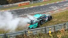 unfall nürburgring 2015 vln 10 lauf 31 10 2015 crash unfall porsche n 252 rburgring