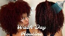 wash day routine using only 4 products natural hair youtube