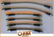 dot approved bmw e30 stainless steel brake line kit 1 6