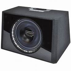 auto woofer subwoofer aktiv bass box kiste emphaser p6a