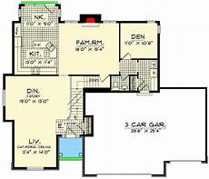 spacious two story home plan spacious 2 story 4 bedroom home plan 89465ah