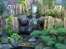 Gambar Wallpaper Keren Air Terjun Minimalis Tukang Taman