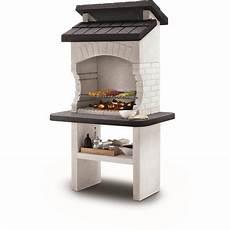 barbecue en moderne 97899 barbecue fixe charbon de bois blanc olbia palazzetti pas cher 224 prix auchan