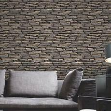 naturstein tapete naturstein effekt tapete 10m schiefer fine decor fd31293