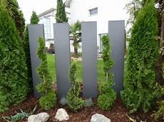 Garten Stelen Metall - stele aus metall