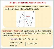 finding zeros of a polynomial function solutions exles worksheets activities