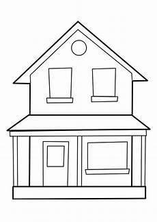 Malvorlage Haus Malvorlage Haus Ausmalbild 22849