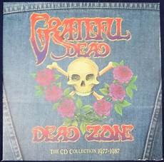 grateful dead archive 1977 the grateful dead dead zone the cd collection 1977 1987 cd compilation limited edition