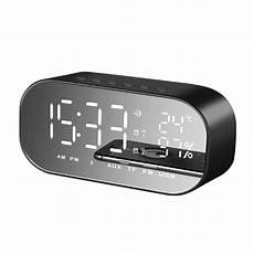 Display Dual Alarm Clock Dual Units yayusi s2 dual units wireless bluetooth speaker led