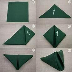 Simple Paper Napkin Folding Simple Napkin Folding
