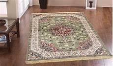 tappeti classici economici tappeto classico collezione rubine 317 verde webtappeti it