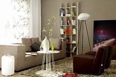 einrichten mit farbe wohnzimmer in hellem grau braun bild 4 living at home