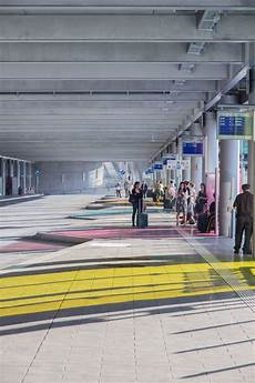 Stuttgart Airport Terminal With Parking Garage By Wulf