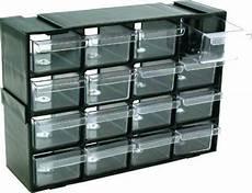 In Drawer Storage by Set 16 Storage Drawers In Cabinet Ideal For Crafts Garage