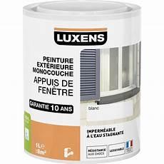 Peinture Appui De Fen 234 Tre Luxens Blanc 1 L Leroy Merlin