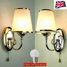 minimalis nordic chrome silver gold led wall lights sconce fitting bedside ls ebay