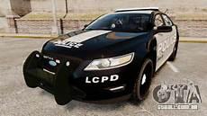 Ford Taurus Interceptor 0 60 by Ford Taurus Lcpd Interceptor 2011 Els Para Gta 4