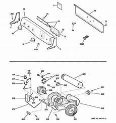 ge electric dryer parts diagram ge electric dryer parts model dpse810eg1wt sears partsdirect