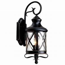 outdoor wall mounted lighting lowes allen roth 29 25 in bronze outdoor wall mounted light lowe s canada