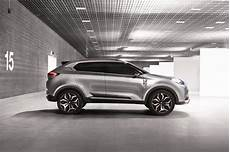 Sporty Crossover Suv by Mg Unveils Sporty Crossover Subcompact At Shanghai Auto Show
