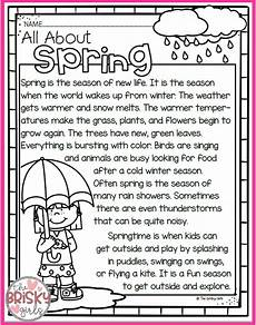 seasons worksheets for grade 4 14737 the four seasons reading passages take home packet reading passages seasons worksheets