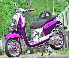 Scoopy Modif Vespa by Gambar Gambar Foto Modifikasi Motor Scoopy Matic Honda 40