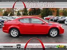 redline 2 coat pearl 2013 dodge avenger r t black red