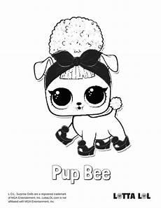 Lol Pets Malvorlagen Welpenbiene Malvorlagen Lotta Lol Lol Series 3