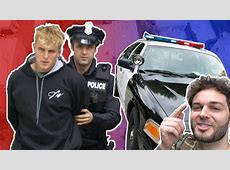 jake paul got arrested