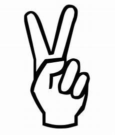 Peace Sign Clipart Best