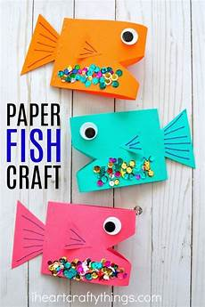 paper fish craft summer crafts for