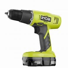 ryobi 18 volt one lithium ion starter drill kit p1810