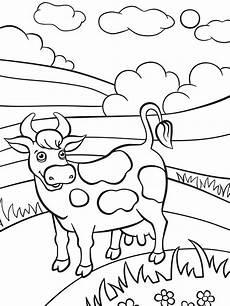 malvorlage lustige kuh ausmalbilder