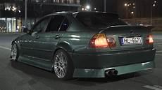 bmw e46 sedan rear overfenders m3 style cliqtuning