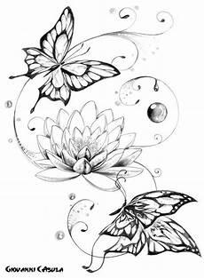 Blumen Malvorlagen Quotes Lotusblume Schmetterling Suche