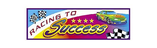 Teacher Bookmarks / Class Gifts  Racing To Success Car