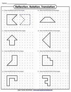 14 reflection of quadrilaterals reflections math worksheet antihrap com