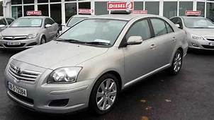 2008 Toyota Avensis 20 D4d  YouTube