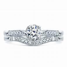 platinum pave diamond bridal engagement and wedding
