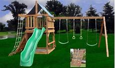 Kinderspielplatz Selber Bauen - do it yourself wooden swing set plans how to build a