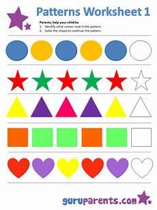 color patterns worksheets 53 pattern worksheets guruparents