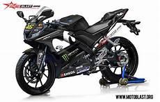 R15 Modifikasi Motogp by Modifikasi Striping Yamaha R15 V3 Movistar Motogp 2018