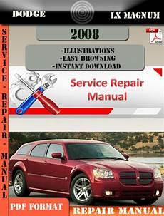 service manuals schematics 2008 dodge magnum user handbook dodge lx magnum 2008 factory service repair manual pdf zip tradebit